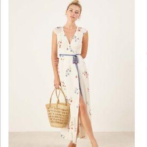 Dress beautiful maxi summer wrap xs